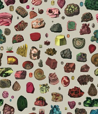 papiers peints Bien Fait, collections Cottage & Crystals