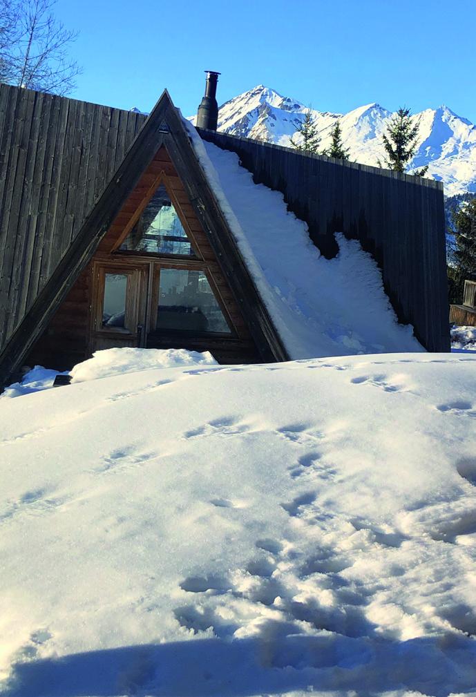 Extérieur chalet Alpaga Lodge