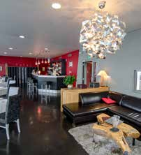 Intérieur du restaurant Belvedere - DR