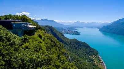 Lac du Bourget et restaurant Belvedere - AER0360