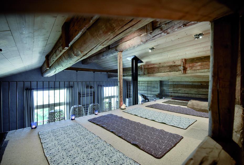 Mezzanine chalet Nantailly en bois