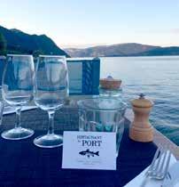 Table près du lac Le Restaurant du Port - DR