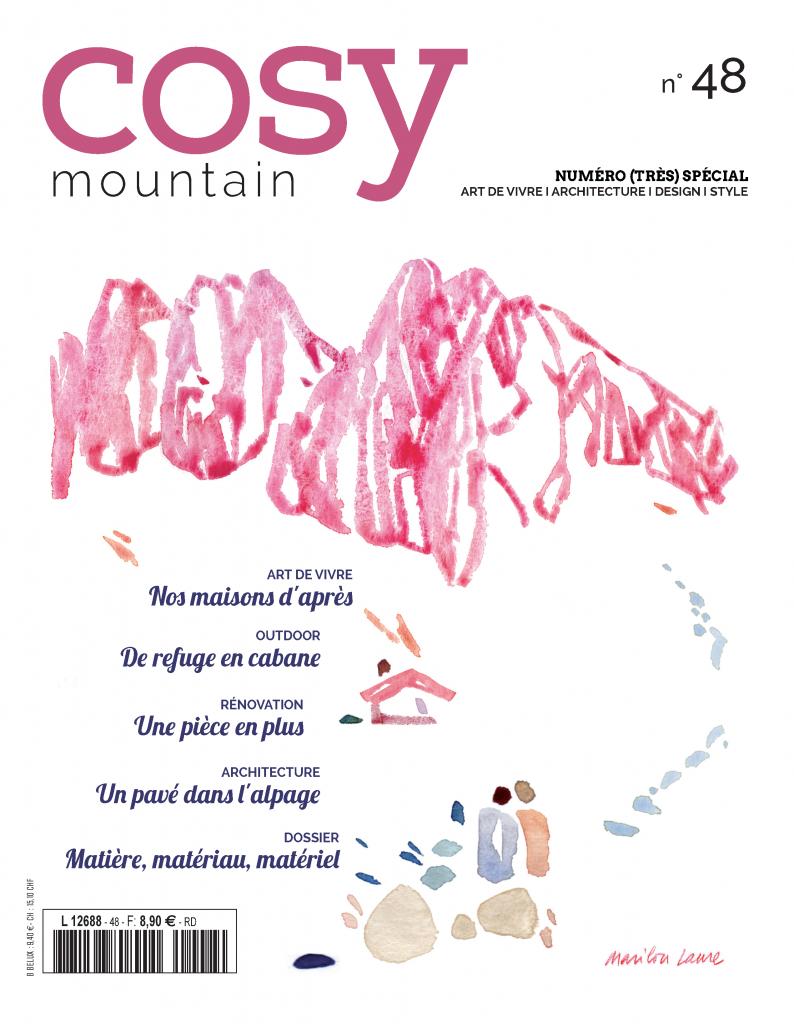 couverture magazine cosy mountain 48