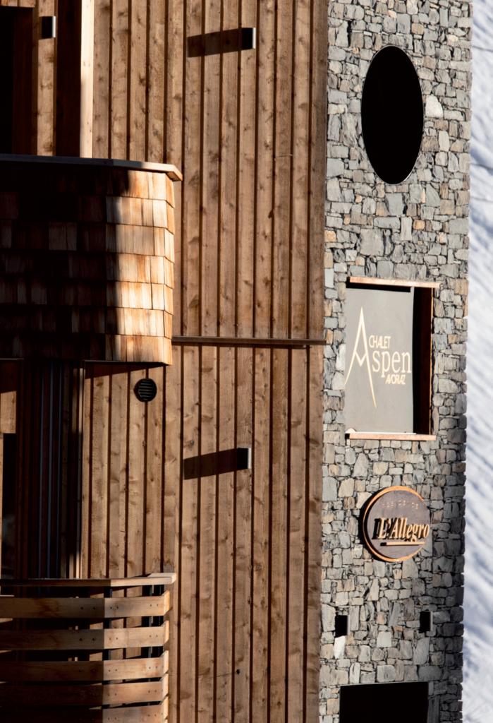Chalet Aspen façade