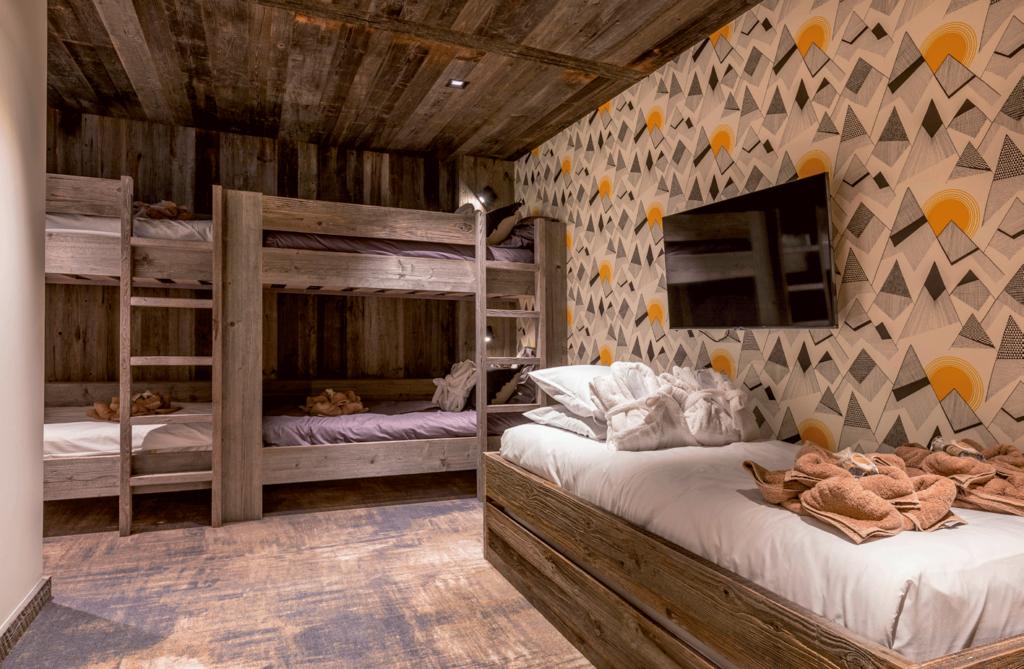 Chalet Aspen dortoire