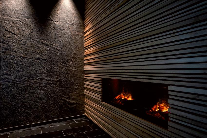 Chalet Aspen cheminée
