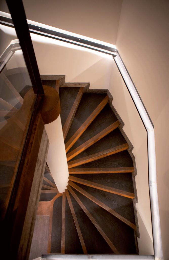 Chalet Aspen escalier