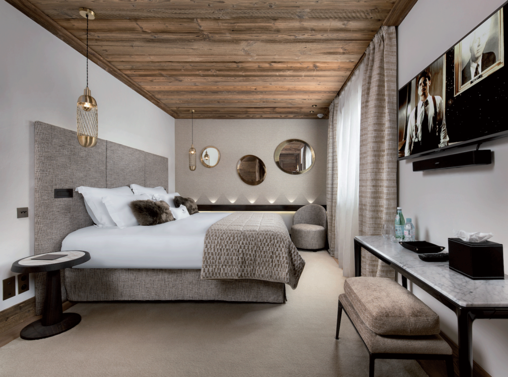 Chambre-chalet-luxe-lit
