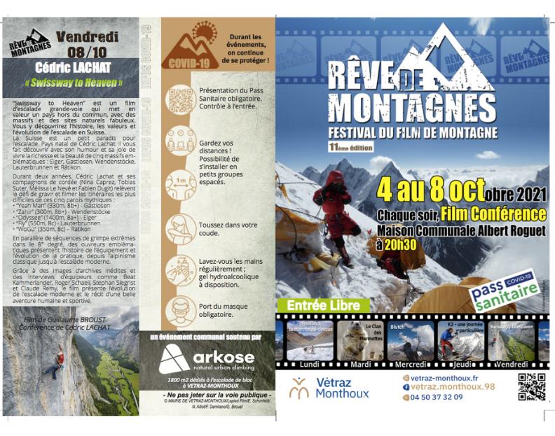 brochure festival cinema montagne